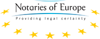 Notaries of Europe Providing legal certainty