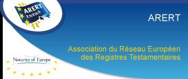 ARERT Association du Réseau Européen des Registres Testamentaires