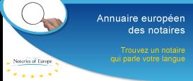 Annuaire européen des notaires